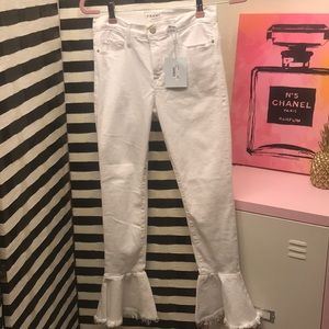 BNWT Frame Skinny Ankle Flare Jeans